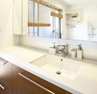 ポイント2:洗面台の幅・高さ・奥行き