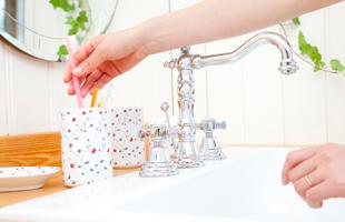 ポイント4:洗面台の使い方